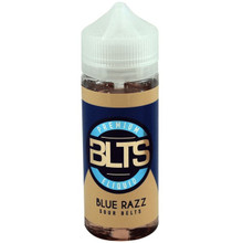 Blue Razz Sour Belts E Liquid 100ml Shortfill by BLTS  (Zero Nicotine & Free Nic Shots to make 120ml/3mg)