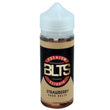 Strawberry Sour Belts E Liquid 100ml Shortfill by BLTS  (Zero Nicotine & Free Nic Shots to make 120ml/3mg)