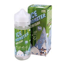 Melon Colada Ice Montser Eliquid 100ml by Fresh Juice Co Only £24.99 (Free Nic Shots)