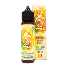 Yuzu Lemon Meringue Koi E Liquid 50ml(60ml with 1 x 10ml nicotine shots to make 3mg) by Element (Zero Nicotine)