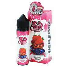 Berry Crunch Hazelnut 50ml E Liquid (60ml with 1 x 10ml nicotine shots to make 3mg) by Mr Juicer (FREE NICOTINE SHOT)