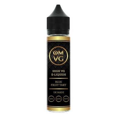 Blue Fruit Tart Shortfill E Liquid 50ml by OMVG (FREE NICOTINE SHOT)