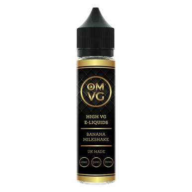 Banana Milkshake Shortfill E Liquid 50ml by OMVG (FREE NICOTINE SHOT)