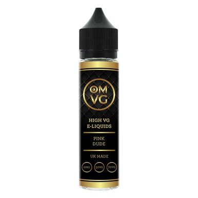 Pink Dude E Liquid 50ml by OMVG (FREE NICOTINE SHOT)