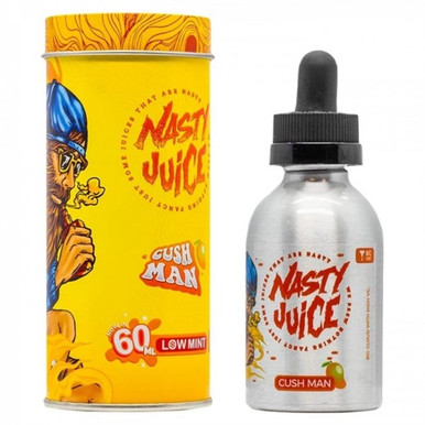 Cush Man E Liquid 50ml(60ml with 1 x 10ml nicotine shots to make 3mg Shortfill by Nasty Juice