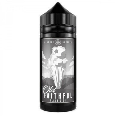 Classic 21 E Liquid 100ml(120ml with 2 x 10ml nicotine shots to make 3mg Shortfill by Old Faithful