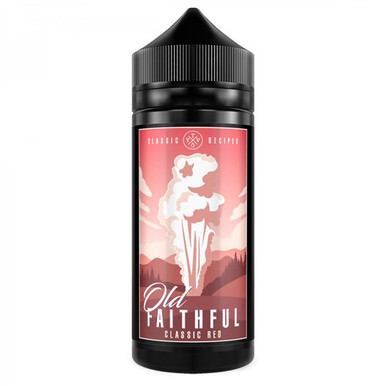 Classic Red E Liquid 100ml(120ml with 2 x 10ml nicotine shots to make 3mg Shortfill by Old Faithful