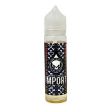Import E Liquid 50ml (60ml with 1 x 10ml nicotine shots to make 3mg) Shortfill by Petrol Heads