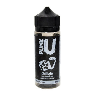 Chillola E Liquid 100ml Shortfill By Punk U