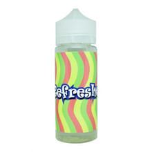 Refreshers E Liquid 100ml (120ml with 2 x 10ml nicotine shots to make 3mg) Shortfill By Juice Sauz
