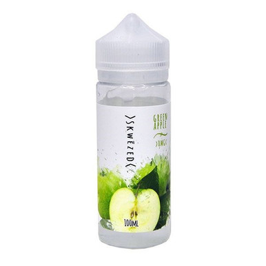 Green Apple 100ml (120ml with 2 x 10ml nicotine shots to make 3mg) Shortfill By Skwezed