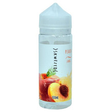 Peach 100ml (120ml with 2 x 10ml nicotine shots to make 3mg) Shortfill By Skwezed