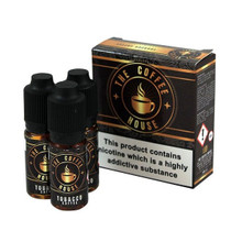 Tobacco Coffee E Liquid 3x10ml By The Coffee House