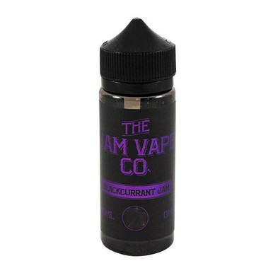 Blackcurrant Jam E Liquid 100ml (120ml with 2 x 10ml nicotine shots to make 3mg)Shortfill By Jam Vape Co