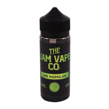 Lime Marmalade E Liquid 100ml (120ml with 2 x 10ml nicotine shots to make 3mg)Shortfill By Jam Vape Co