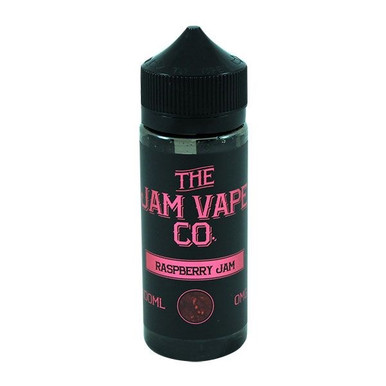 Raspberry Jam E Liquid 100ml (120ml with 2 x 10ml nicotine shots to make 3mg)Shortfill By Jam Vape Co
