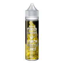 Lemon Drizzle Cake E Liquid 50ml (60ml with 1 x 10ml nicotine shots to make 3mg) Shortfill by Pukka Juice  Deserts
