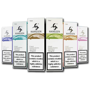 5 Hangsen 10ml E Liquids Variety Pack from the Atom Series