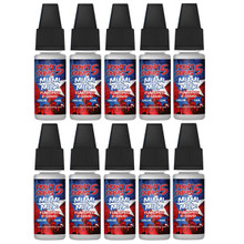 10 x 10ml Point Five Ohms E liquids Variety  Pack £9.99
