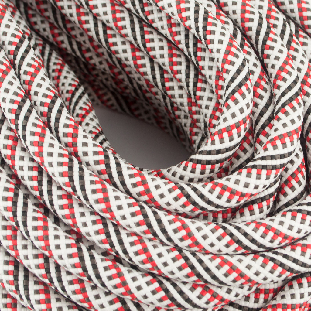 New England Ropes - Equinox - STD Dry -9.9mm x 60M - Red/White