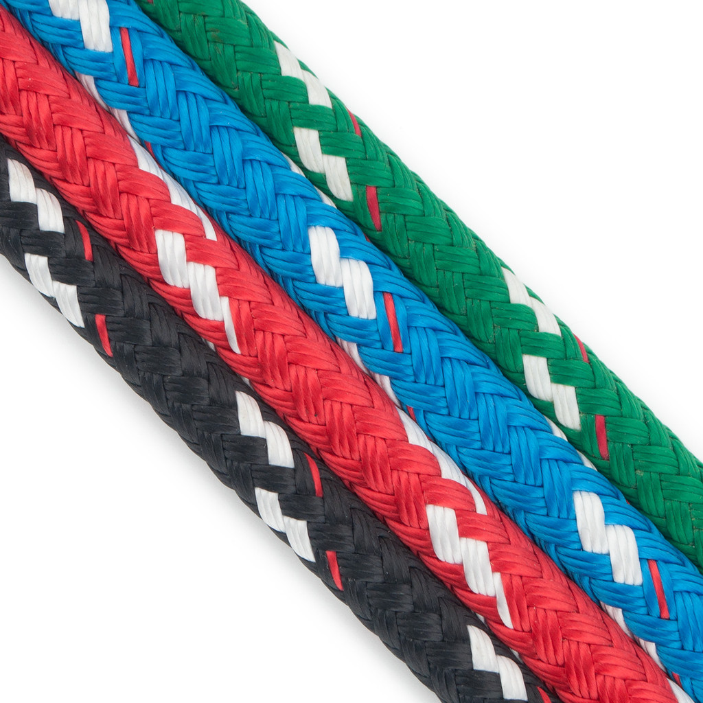 Sta-Set Polyester Double Braid Rope - Solid Colors