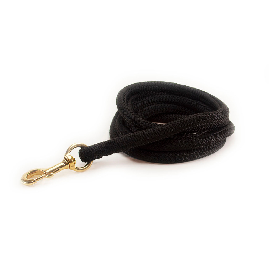 "Horse Leads - 5/8""Nylon Double Braid Rope"