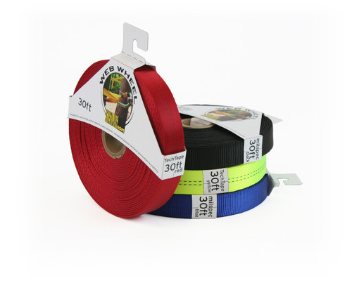 Tubular Nylon Webbing - Sterling Web Wheel Tech Tape