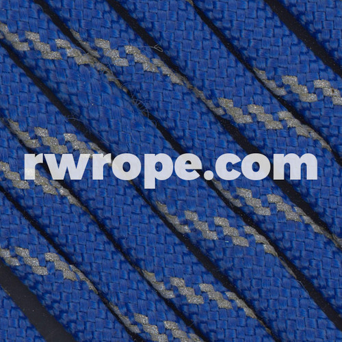 Paracord 550 in Royal Blue With Reflective Fleck