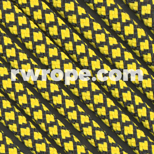 Paracord 550 in Canary Yellow Diamonds