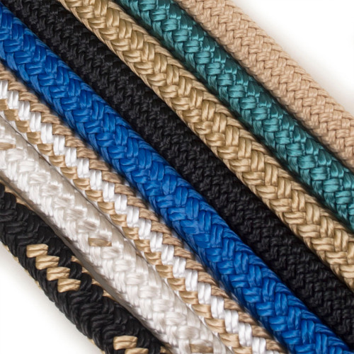 "Nylon Double Braid Dock Line - 1/2"" - Closeout Colors"