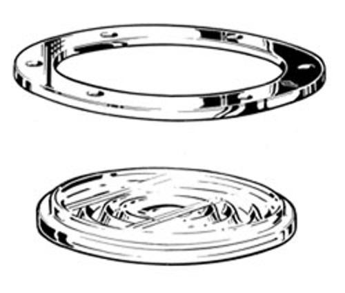 Deck Prism - Round - Replacement Glass