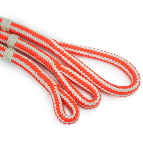 Arborists Split Tails from New England Ropes Braided Safety Blue. HiVee 3 Eye sizes.