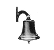 Ship's Bell - Polished Brass