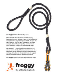 froggy Kong Dog Leash description.