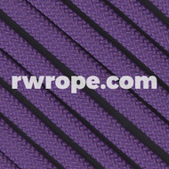 650 Flat Coreless Paracord in purple.