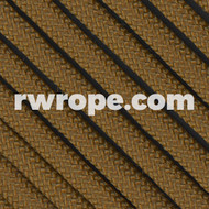 650 Flat Coreless Paracord in coyote brown.
