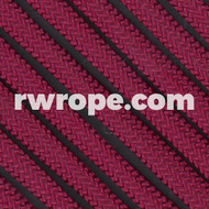 650 Flat Coreless Paracord in Burgandy.
