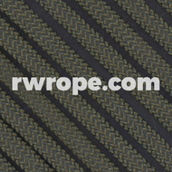 1000 lb test Type IV paracord in olive drab.