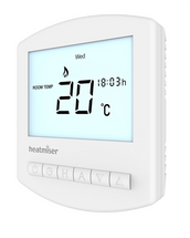 Heatmiser Slimline-B Battery Powered Programmable Thermostat