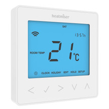 Heatmiser neoStat 12v - Programmable Thermostat - Glacier White