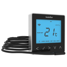 Heatmiser neoStat-e - Electric Floor Heating Thermostat Sapphire Black