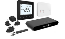 HomeKit-Enabled Wireless Smart Thermostat -  Heatmiser neoAir Kit Gen 2 Sapphire Black