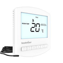 Heatmiser Slimline-E V2 - Electric Floor Heating Thermostat