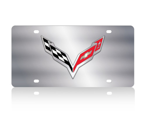 C7 Corvette SS License Plate