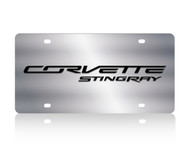 C7 Corvette Stingray SS License Plate