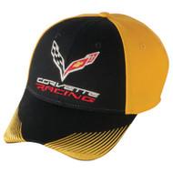 C7 Corvette Racing Yellow & Black Hat