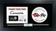 C1 Corvette Custom Framed Picture