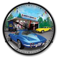1963 Corvette Clock