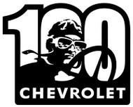 Chevrolet 100th Racer Sign
