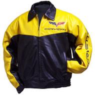 C6 Corvette Elite Leather Jacket